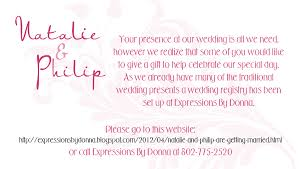wedding gift message wedding gift registry message topweddingservice