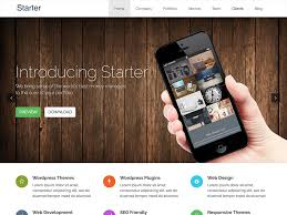 download themes on mobile phone 30 best free one page wordpress themes 2018 athemes