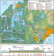 map of panama city map of panama canal republic of panama nations