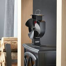 vonhaus 3 blade usb stove eco fan heat powered ultra quiet
