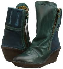 womens booties for sale fly fly simi s boots blue petrol petrol shoes