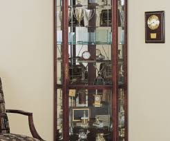 Antique Curio Cabinet With Clock Reputable Victoriana Curio Wall Cabinet Cherry Victoriana Wall