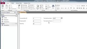 Design A Custom Home Create A Custom Form With Design View In Access Custom Forms