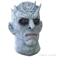 Zombie Mask Scary Halloween Zombie Mask Game Of Thrones Night King Latex Mask