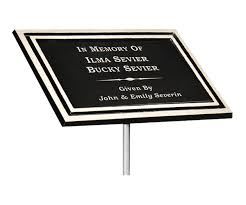 outdoor memorial plaques usa trophies we strive to provide the ultimate in quality