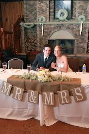 Wedding Head Table Decorations by Best 25 Rustic Head Tables Ideas On Pinterest Country Wedding