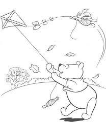 kite coloring pages winnie pooh coloringstar