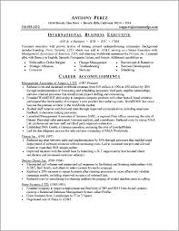 Executive Resume Sample by Executive Resume Sample Powerful Executive Resumes Sample