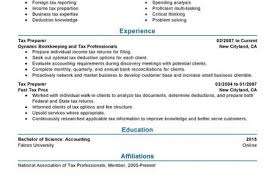 Sample Tax Accountant Resume by Accountant Resume Sample 11 Sample Resume Tax Accountant Riez