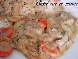 cuisiner un filet mignon de porc filet mignon de porc façon blanquette entre rire et cuisine