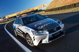 lexus advertising australia lexus gs 350 f sport pace car in australia lexus enthusiast