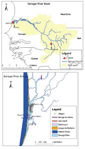 Mali Location On World Map by Location Of The Senegal River Basin And Estuary Figure 1 Of 2