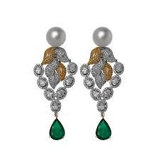 design of earing earrings tbz nirmal zaveri