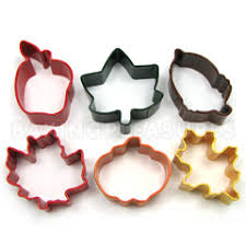 cookie cutters autumn resin cookie cutter set