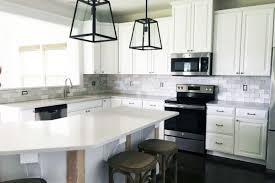 marble subway tile kitchen backsplash how to install a marble subway tile backsplash just a and
