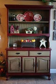 china hutch top into bookshelf looks great surprised at how