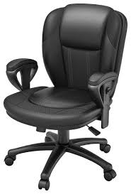ZLine Designs Leather Office Chair Black ZL300601MCU  Best Buy