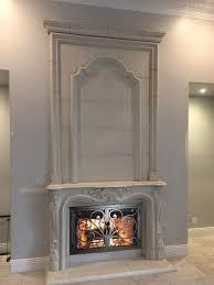 precast mantels fireplace surrounds iron fireplace doors and