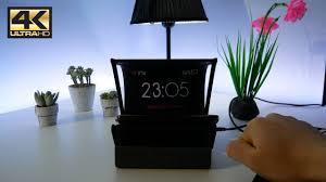 sveglia comodino reflexbox 2 0 piú di una semplice sveglia da comodino