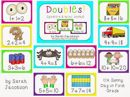 doubles fact a day in grade math monday doubles
