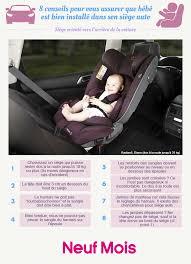reglage siege auto l infographie qui nous dit tout sur le siège auto afin de bien
