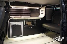 volkswagen van 2016 interior infinity 2 three bridge campers vw camper conversions vw t5