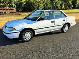 original toyota corolla toyota corolla sedan 1992 white for sale 2t1ae94axnc163474 1992
