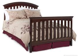 cribs that convert to toddler bed delta bentley 4 in 1 convertible crib chocolate walmart canada