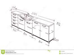 dessiner salle de bain retrait de dessin à main levée moderne de salle de bains de