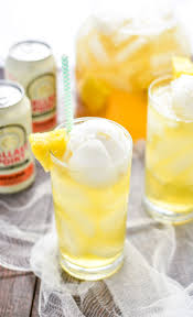 tropical pineapple beer party punch