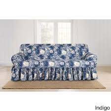 Sofa Slipcovers T Cushion by T Cushion Sofa Slipcover One Piece Centerfieldbar Com