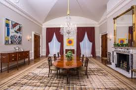 dining room artwork how a work of art makes it onto the wall of the white house npr