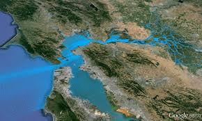 San Francisco Bay Map by San Francisco Bay Model