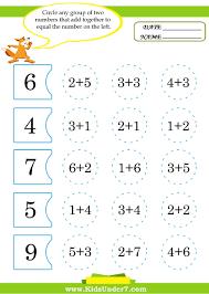 Addition To 10 Worksheets Mogenk Worksheet Page 116