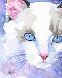 cat orie si e auto b 355 best watercolor cats images on watercolor cat cat