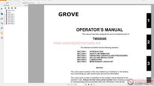 grove tms800e workshop manual auto repair manual forum heavy