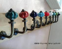 Wrought Iron Curtain Rings Curtain Hooks Etsy