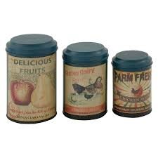 old dutch 4 piece fleur de lis canister set walmart com