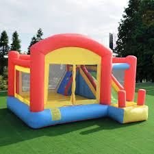 inflatable bouncy castle house super slide jumper moonwalk kids