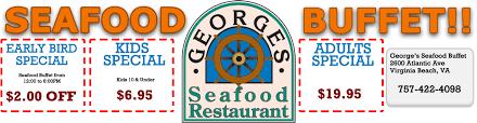Best Buffets In Atlantic City by George U0027s Seafood Buffet 2600 Atlantic Ave Virginia Beach Va