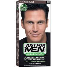 Hairstyle Generator For Men by Just For Men Hair Dye Hair Color Real Black H 55 Walmart Com