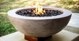 Concrete Firepits How To Make A Concrete Pit Bowl