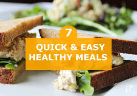 7 easy healthy meals you can make in 30 minutes