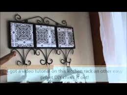 Kitchen Decor Stores Dollar Store Dollarama Diy Kitchen Decor Part 2 Youtube
