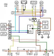s10 tail light wiring diagram chevrolet tail light wiring diagram