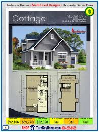 cottage rochester modular home cape cod multi level plan price