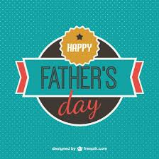 happy father u0027s day badge background vector free download