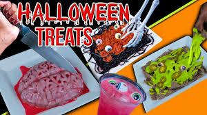 diy halloween party treats edible slime brains u0026 more youtube