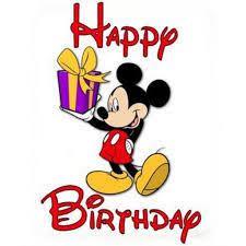canape mickey birthday mickey mouse