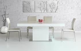 White Extendable Dining Table Modern White Dining Table The Durham Modern White Lacquer